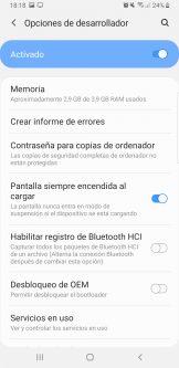 Evitar que la pantalla del teléfono o tablet Android se apague