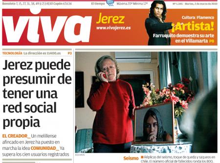 Hace 11 años Jerez presumía de tener red social propia